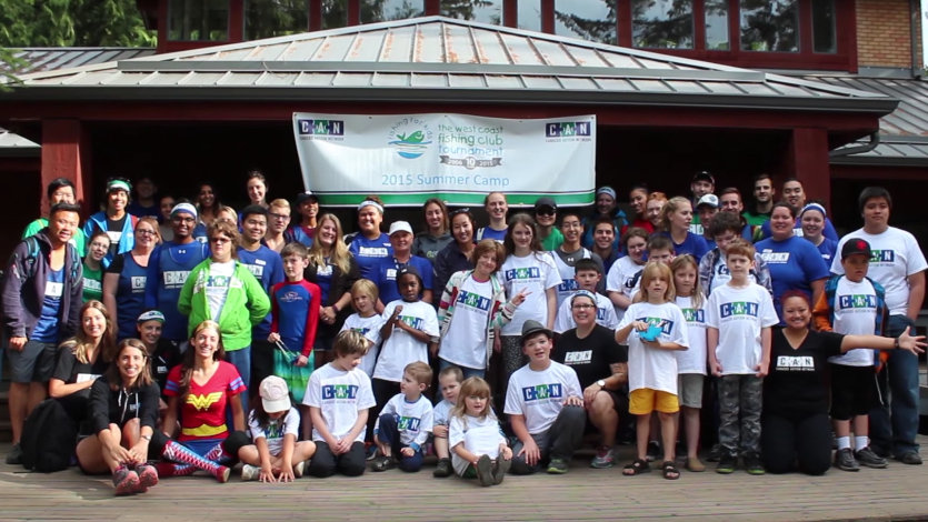 Canucks Autism Network/Fishing for Kids Summer Camp